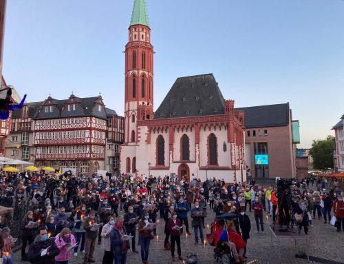 3. Oktober 2021 auf dem Römerberg – Deutschland singt